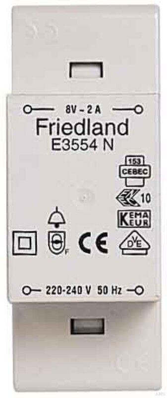 Novar Friedland Klingeltransformator E3554 N | New Product 2019