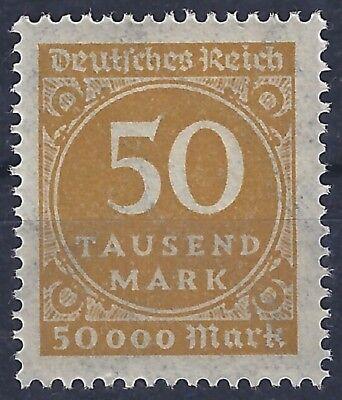 """Deutsches Reich 275a Mit Prüfzeichen """"a"""" Postfrisch Vereinigt Ziffer Im Kreis Minr"""