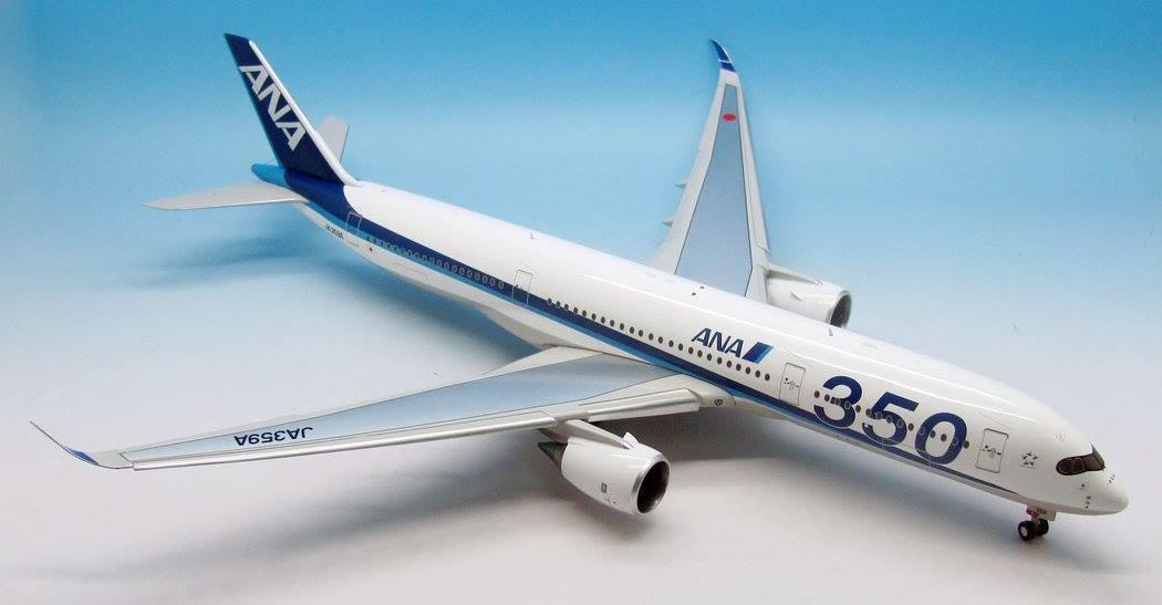 Inflight / Jfox JFA350003D 1/200 Airbus A350-900 Ana Ja359a   Flaps Giù