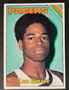 1975-76-Topps-Basketball-259-Len-Elmore-VG-EX-Pacers