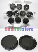 10x Rear lens and Body cap cover for Nikon DSLR SLR AI AF Wholesale lots 10 pcs