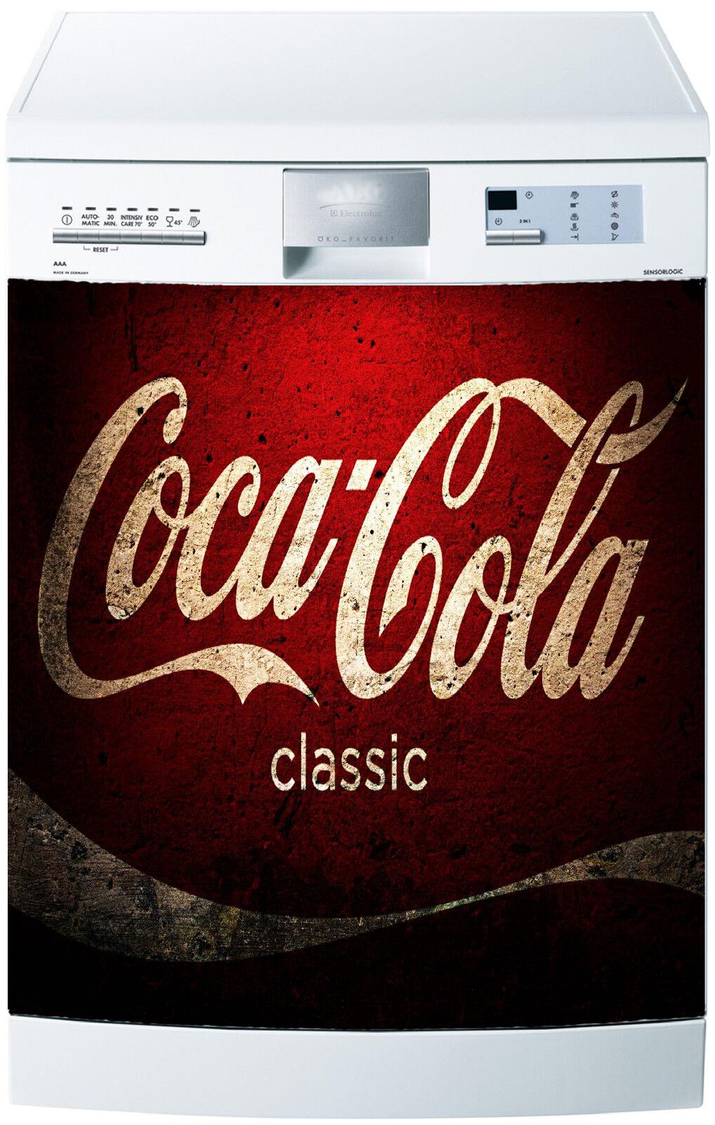 Adesivo Lavastoviglie Decocrazione Cucina Elettrodomestici Cola Ref 648 60x60cm