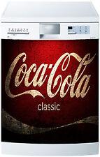 Sticker lave vaisselle déco cuisine électroménager Coca Cola réf 648 60x60cm