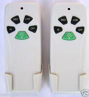 Litex Rc-103 Ceiling Fan Wireless Remote Control Twin Pack Harbor Breeze