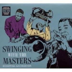 SWINGING-WITH-THE-MASTERS-ESSENTIAL-JAZZ-COLL-2-CD-NEW