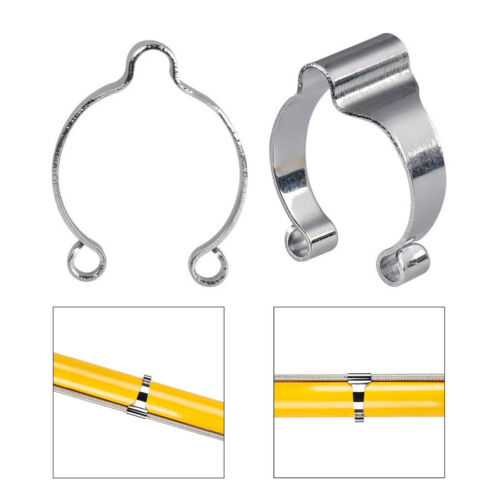 Bicycle Bike Brake Wire Line Pipe Buckle Wire Tube Clamp Steel Fixed Ring Gear