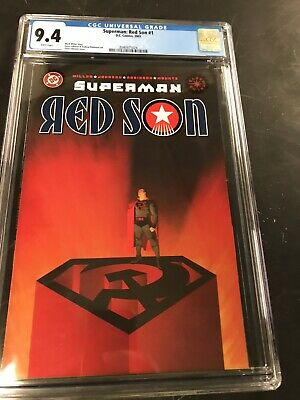 Superman Red Son 1 Cgc 9 4 Dc 2003 Ebay