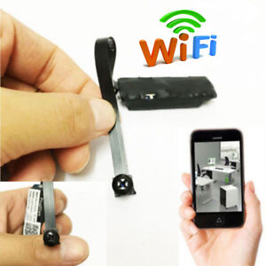 cbac22e790652 Mini Hidden WiFi Spy Camera Wireless IP Pinhole DIY Digital Video ...