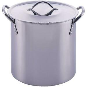 8-Quart-Stainless-Steel-Stock-Pot-Lid-Cooking-Kitchen-Soup-Stew-Sauce-Stockpot
