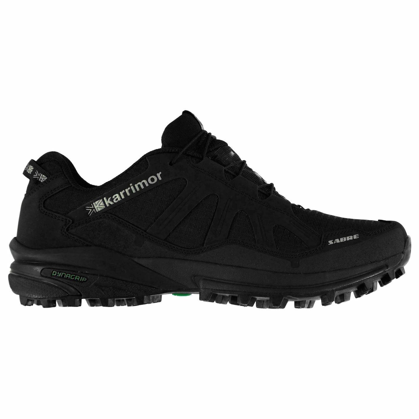 Karrimor Sabre Da Uomo Trail Scarpe Da Corsa Tessile collare imbottito per Caviglia allacciatura rapida