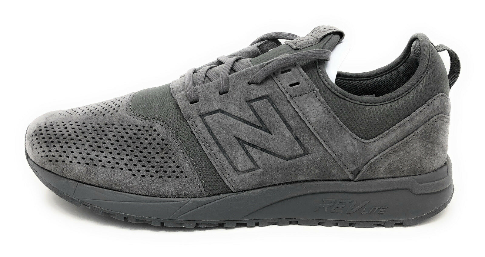 New Balance Men's 247v1 Sneaker, Grey, 9.5 D US