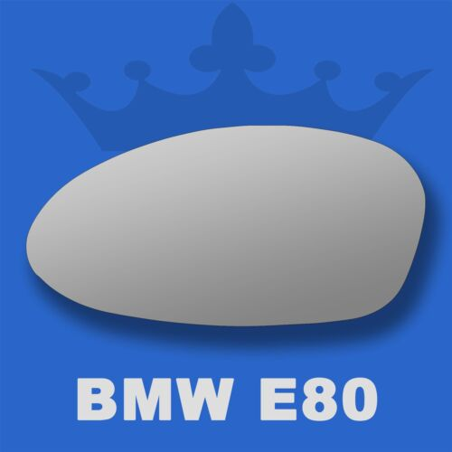 BMW 1 Series wing door mirror glass 2004-2010 Left Passenger side Flat