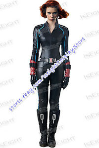 Details About The Avengers 2 Age Of Ultron Cosplay Natasha Romanoff Black Widow Costume Sexy