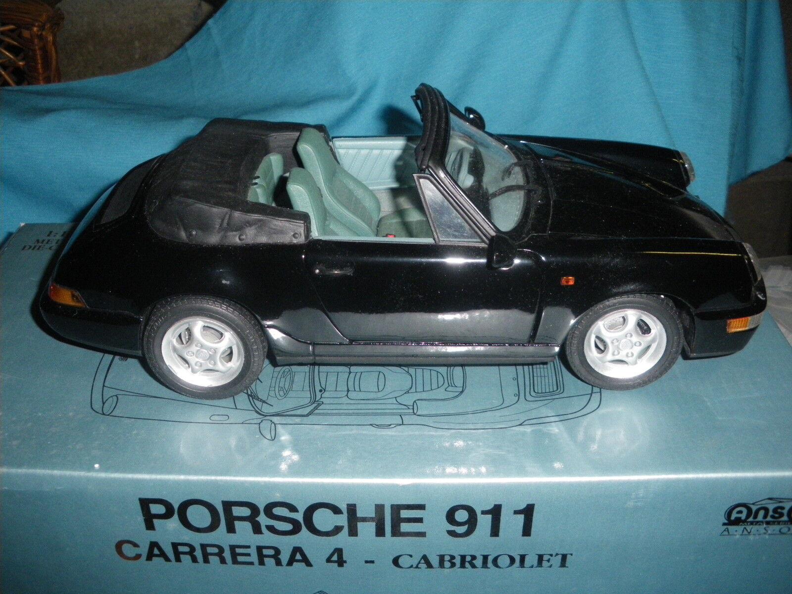 529A Anson 30313 Porsche 911 Carrera 4 Cabriolet 1 14