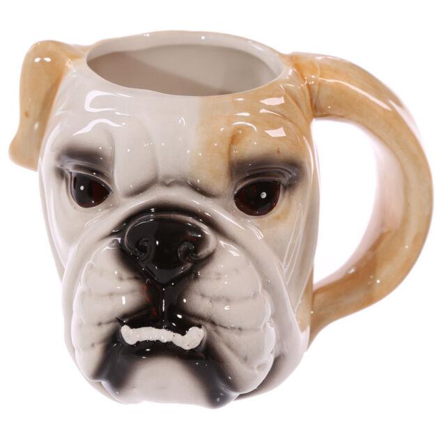 Fantasy Tasse Mops Kaffeetasse Bulldogge Kaffeebecher Becher Mug Hund Teetasse