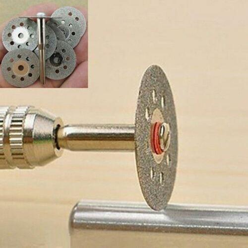 12 Pcs Durable outil rotatif 3 mm circulaire GrinderALI 88 électrique pour coupure Mandrin