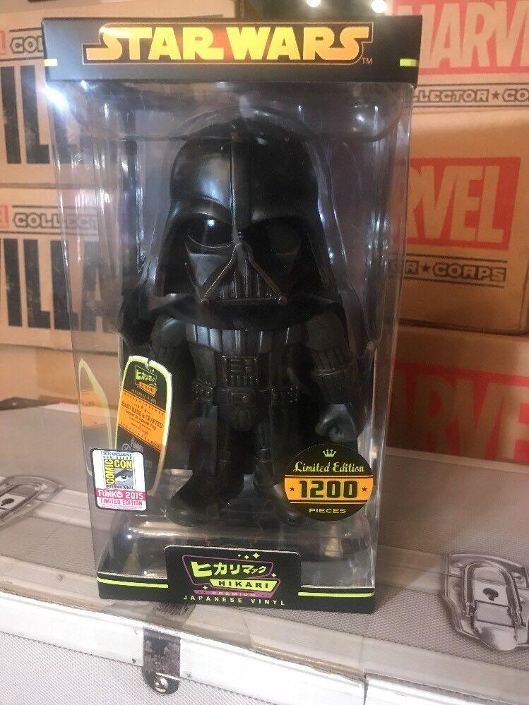 SDCC 2015 Funko Hikari Japanese Vinyl Star Wars Darth Vader comic con sofubi