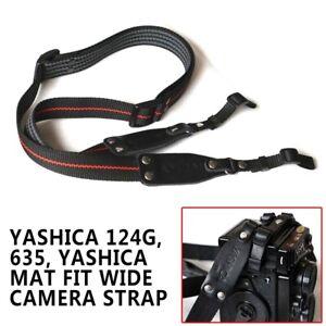 Yashica-Mat-Fit-Wide-Camera-Strap-Adjustable-Neck-Strap-for-Yashica124G-635