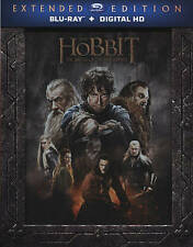 THE HOBBIT: THE BATTLE OF THE FIVE ARMIES EXTENDED EDITION 2 DISC BLU-RAY - used