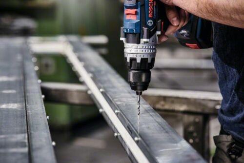 14,0 mm Bosch Métal Forets HSS pointteq DIN 338 avec réduction Tige
