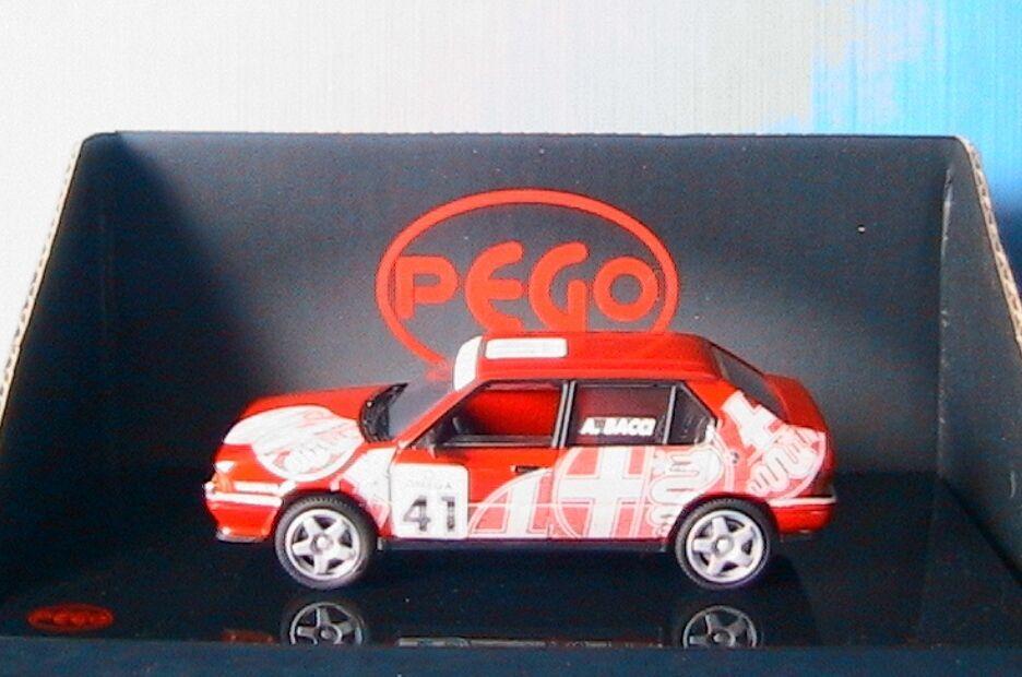 ALFA ROMEO 33  41 CIVT 1995 BACCI PEGO PG1054 1 43 rouge BERLINA FOUR DOORS