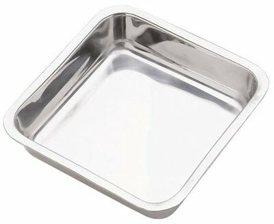 Norpro 3814 Stainless Steel 8 Inch (20 cm) Square Cake Pan