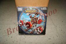 Mega Bloks World of Warcraft Flying Machine and Flint 90 Pc Set NEW