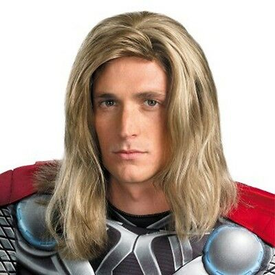 Avengers Thor Blonde Mix Men's Halloween Wigs (adult size) A8