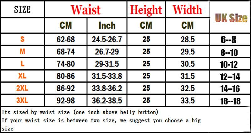 Women Slimming Waist Shaper Trainer Stomach Tummy Cincher Corset Belts Sport Gym 2