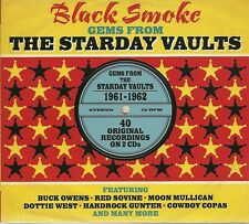 BLACK SMOKE GEMS FROM THE STARDAY VAULTS - 2 CD BOX SET - BUCK OWENS & MORE