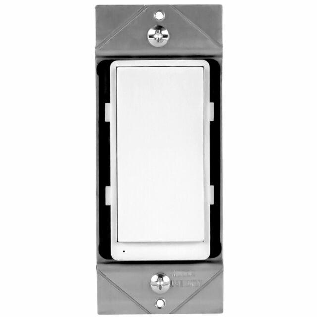 Enerwave Zw3k Z Wave Wireless 3 Way Add On Auxiliary Switch W Led Locator And