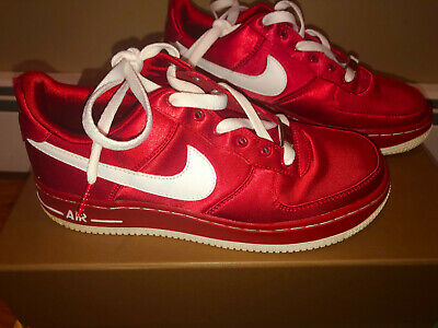 Nike Air Force 1 Low Valentines Day 2014 Red PInk GS Grade School 5.5 314219-601
