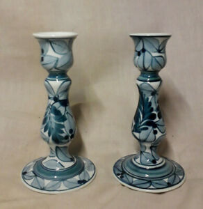 Pair-of-12cm-Blue-and-White-Candlesticks