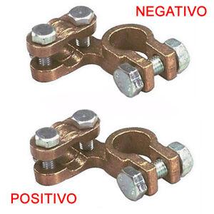piccoli-Morsetti-Batteria-1000A-positivo-negativo-coppia-auto-trattori-12-13mm