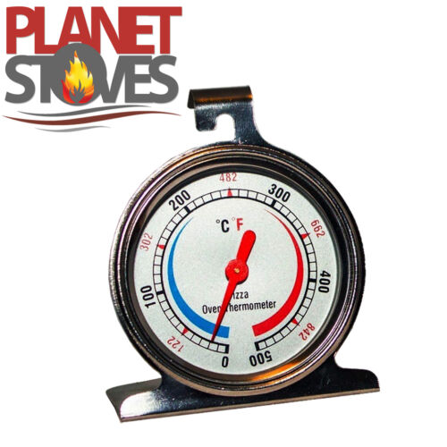 Pizza Oven Thermometer Temperature Gauge Stainless Steel Pizza /& Bread Ovens