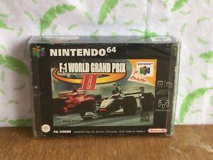 Nintendo 64 N64 Game-GRAND PRIX F-1 II-Coffret avec manuel - (BS3)