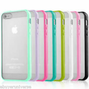 CLEAR-Hard-Back-Silicone-TPU-Bumper-Case-Cover-For-New-Apple-iPhone-6-4-7