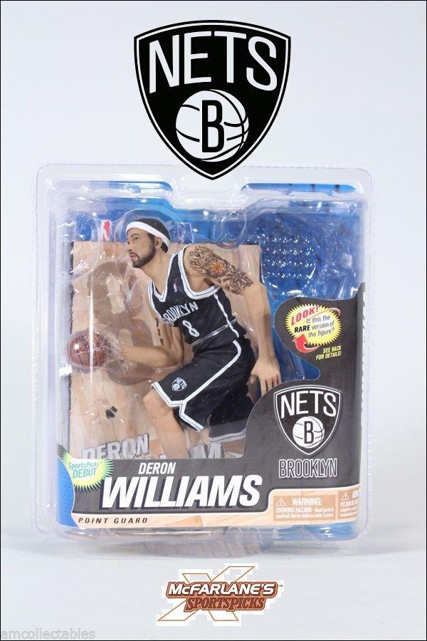 Mcfarlane NBA 22 - Brooklyn Nets - Deron Williams - Variant Figurine - Nip