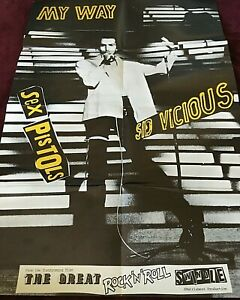 SEX PISTOLS VINYL the great rock n roll swindle LP x2 with RARE POSTER 1st UK PR