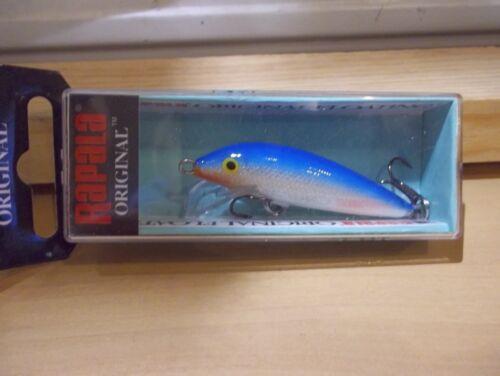 Rapala Original Floating F 5 B blue NIB