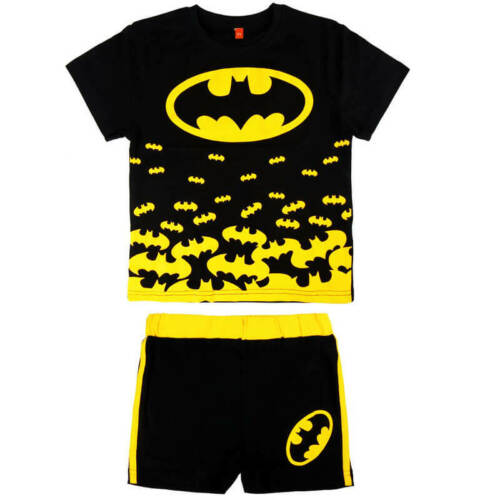 BATMAN T-shirt and short for children Cotton Licensed Size:from 92 to 122 cm