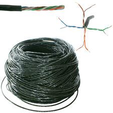 100m Outdoor External CAT5 Ethernet Network Cable Reel/Drum - LAN UTP RJ45 CCA