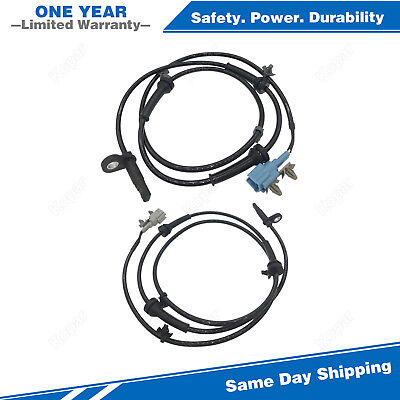 For 2004-2008 Nissan Murano 3.5L Front ABS Wheel Speed Sensor ALS286 ALS290 2pcs