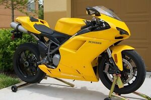 Yellow Complete Fairing Injection for 2007-2012 Ducati 848 1098 1198