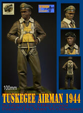 USAAF Pilot Tuskegee Airman 1944, 100mm Resin Kit, Thunderbird Miniatures, NIB,