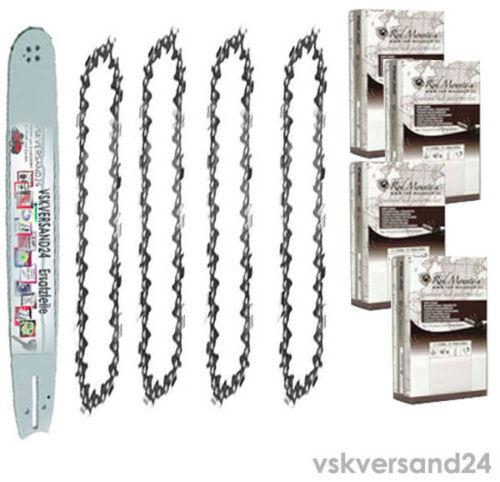 Schwert 30-35 40cm Ketten 3//8 x 1.3 für Bosch AKE35-19 PRO