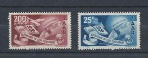 1950-Germany-SAAR-SG-294-5-Set-of-2-MUH