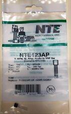 New Nte123ap T Npn Si Audio To Vhf Amp Sw Sk3854 Nte Ecg Transistor