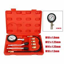 Car Petro Engine Cylinder Compression Tester Pressure Gauge Test Diagnostic Tool