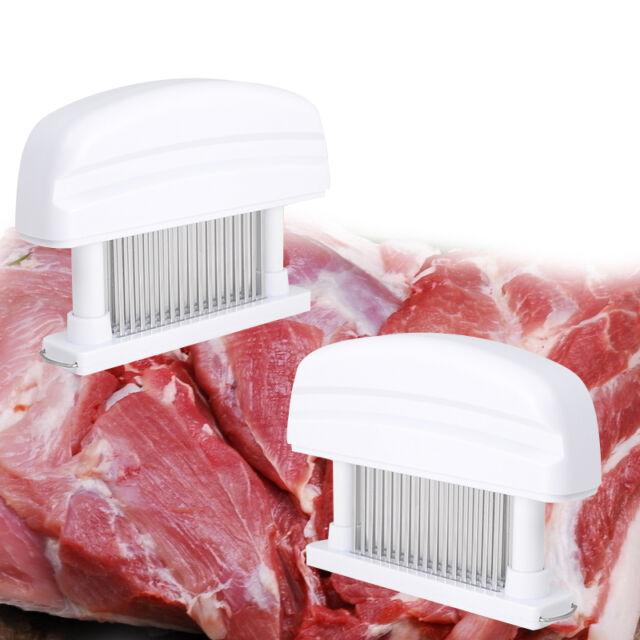 48 Needles Sharp Stainless Steel Blade Knives Meat Tenderizer Kitchen Tool bid